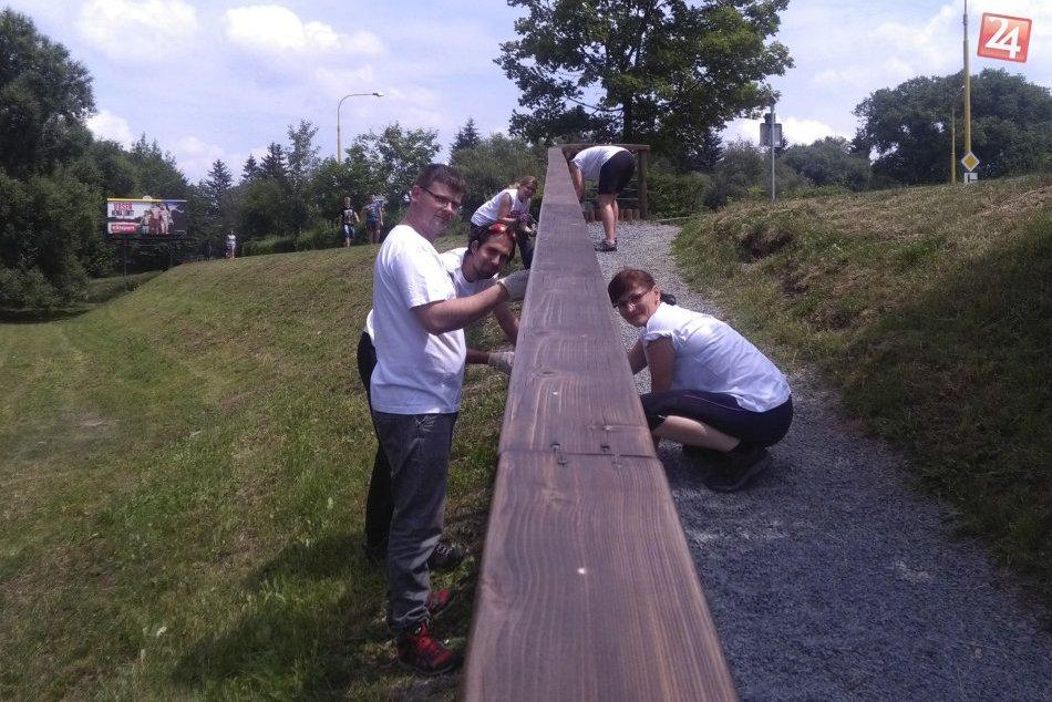 V OBRAZOCH: Lanice skrášľujú dobrovoľníci