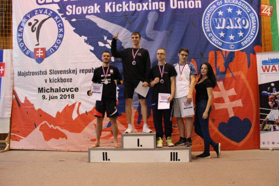 FOTO: Majstrovstiev SR sa zúčastnil aj Športový Kickbox klub Michalovce