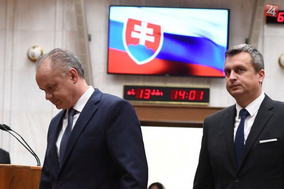 Prezident vystúpil s prejavom, na ktorého začiatku nechali vykázať Kotlebovcov