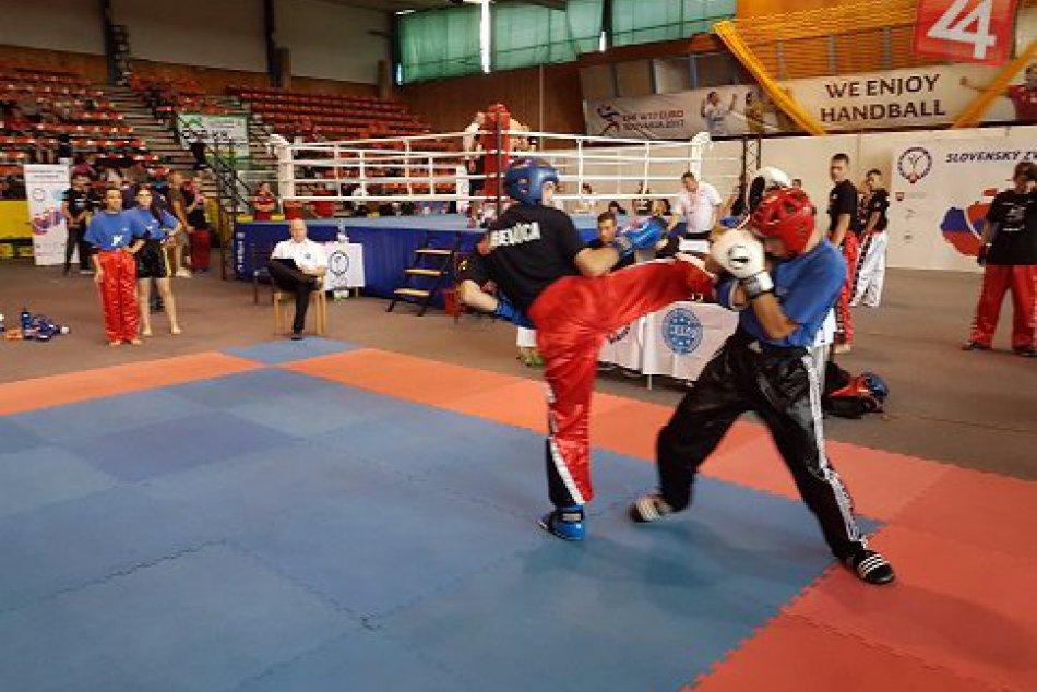 V OBRAZOCH: Kickbox Leon Revúca na Majstrovstvách SR