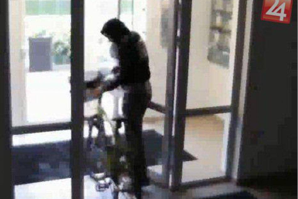 Údajný páchateľ, ktorý zrejme bicykle ukradol