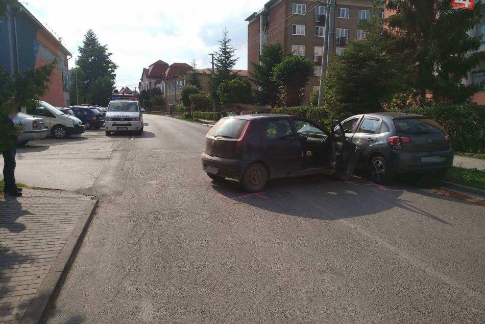 V Spišskej Novej Vsi došlo k dopravnej nehode: Zábery z miesta