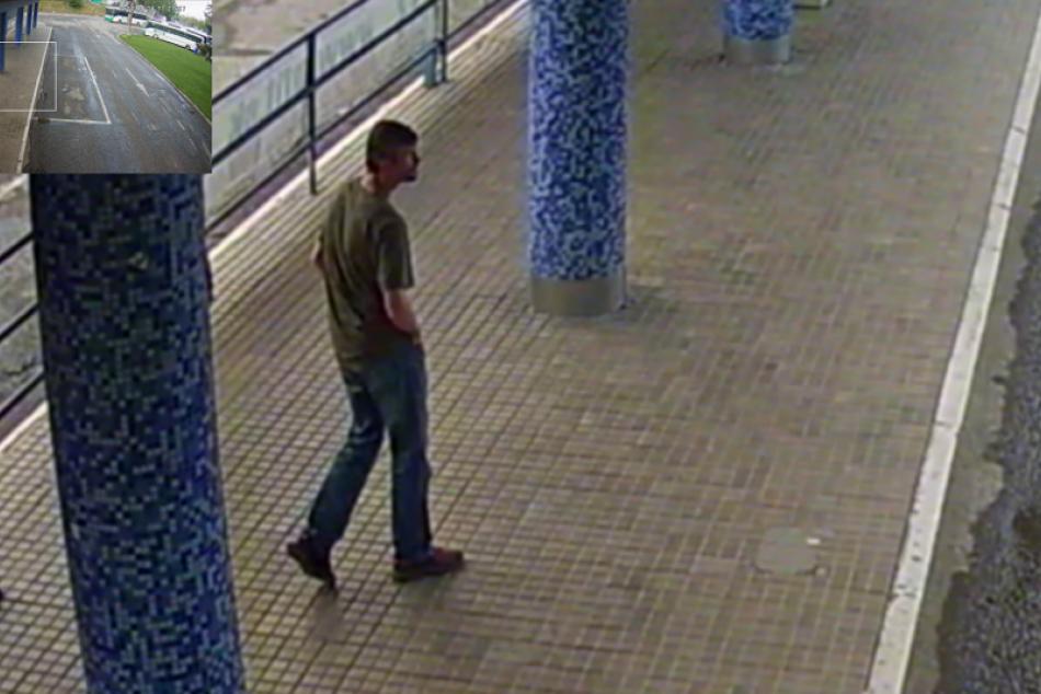 ZÁBERY Z KAMERY: Tento muž je podozrivý z krádeže v Prešove
