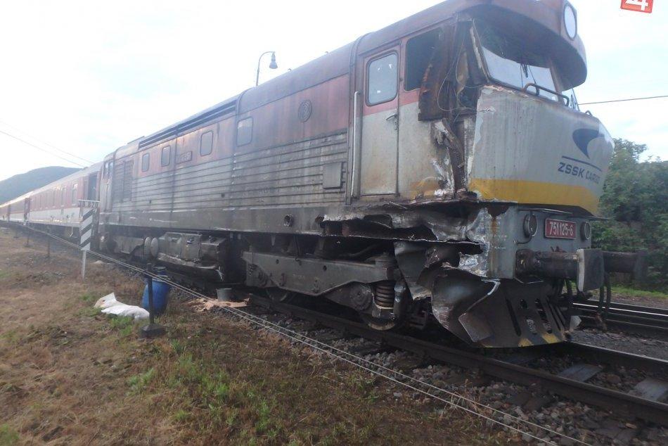 Obrazom: Havária vlaku pri Plešivci