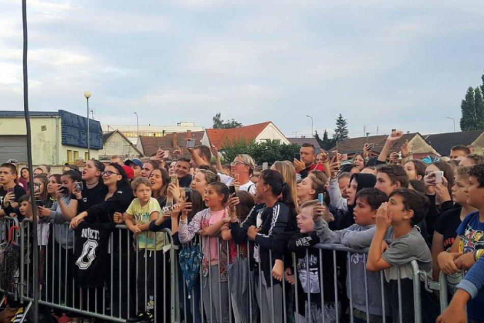 Hip hop ovládol Hlohovec: Kaliho nezastavil ani dážď!