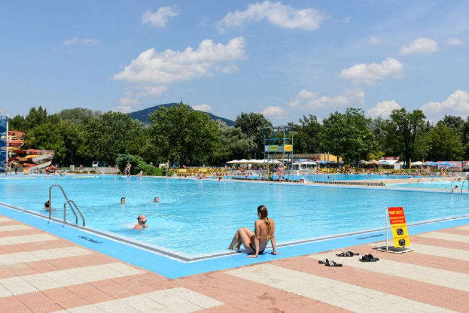 FOTO: Letné kúpalisko v Nitre 2018