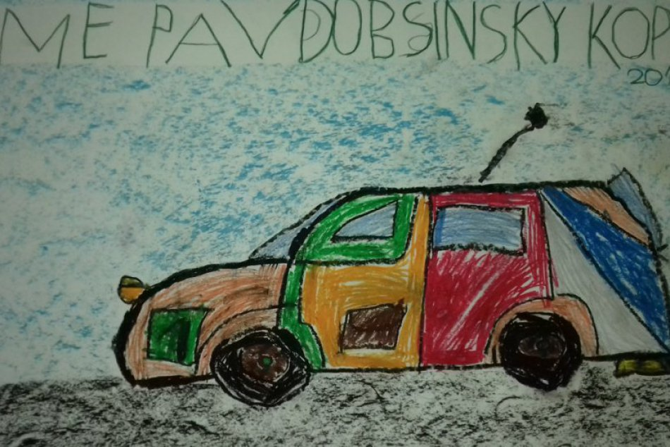 Obrazom: Dobšinský kopec 2018 v detských kresbách