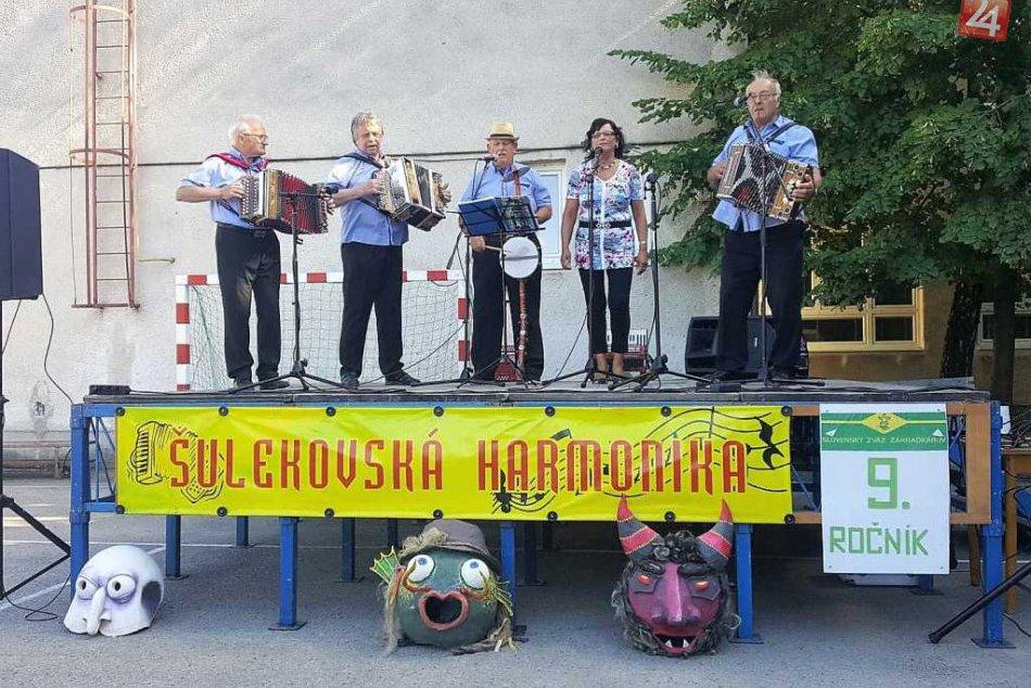 Šulekovská harmonika: Skvelá atmosféra, heligónky, spev a dobrá nálada