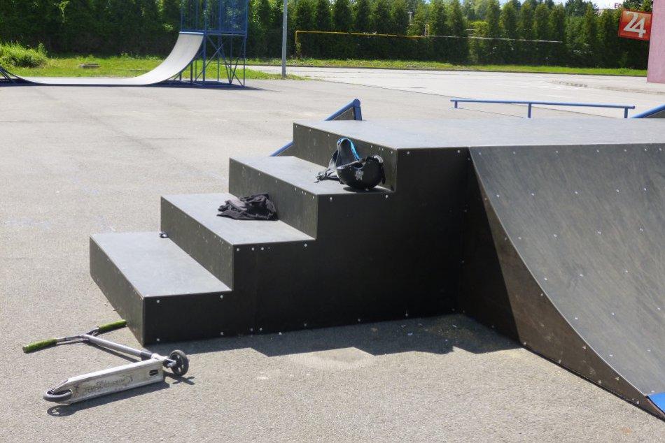 Pozrite si ho na fotkách: V Humennom zrekonštruovali skatepark za vyše 17 tisíc