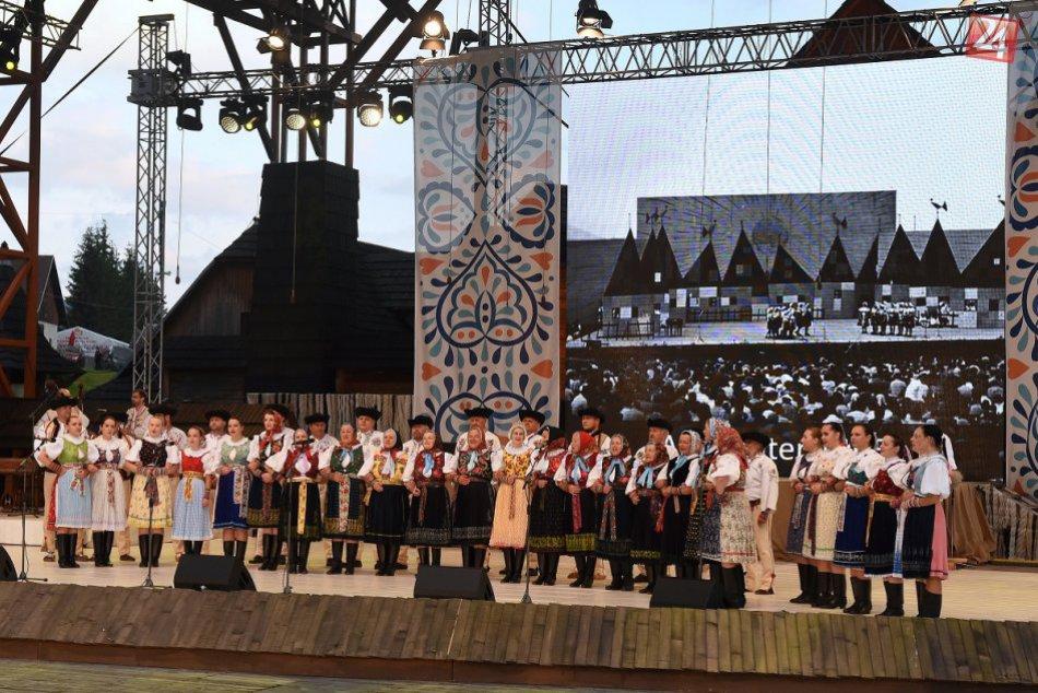 FOTO: 64. ročník folklórneho festivalu Východná