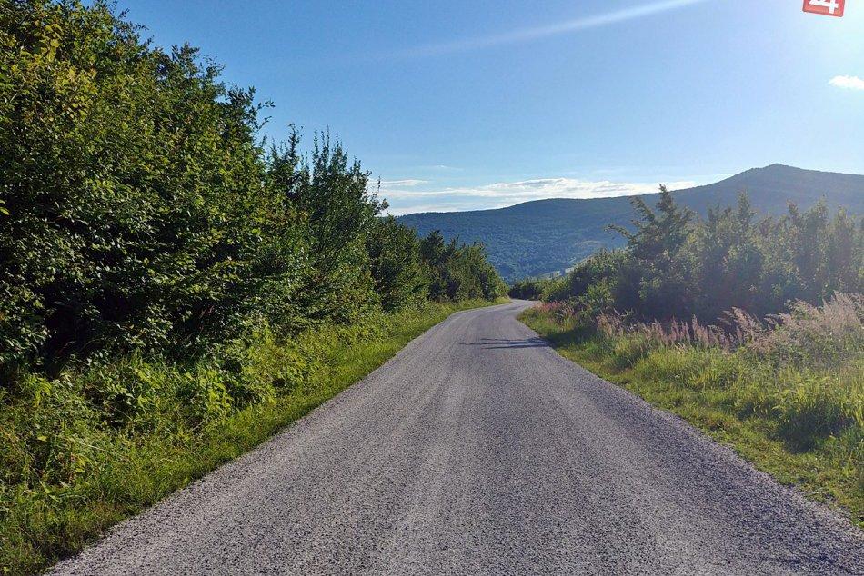 Obrazom: Rekonštrukcia cesty cez Pačanský kopec