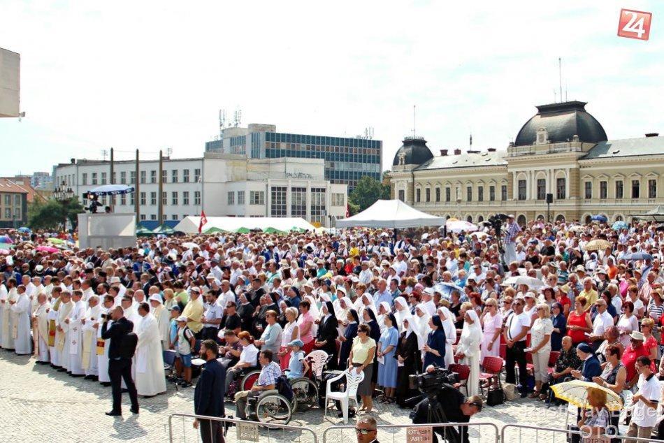Veriaci z celej krajiny sa stretli na národnej púti v Nitre