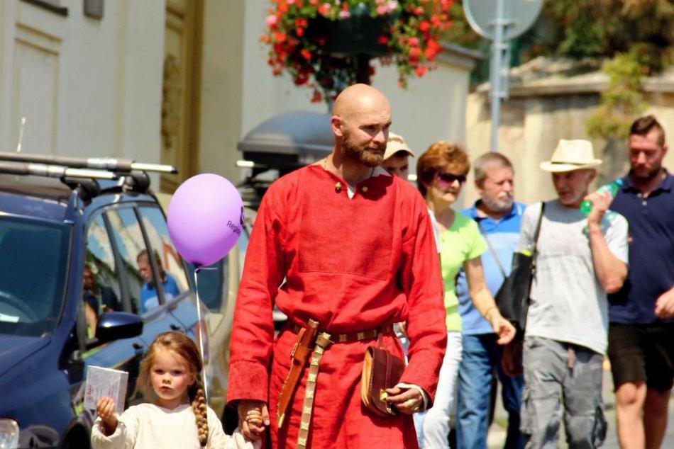 Festival Pribinova Nitrawa preniesol podhradie do stredoveku