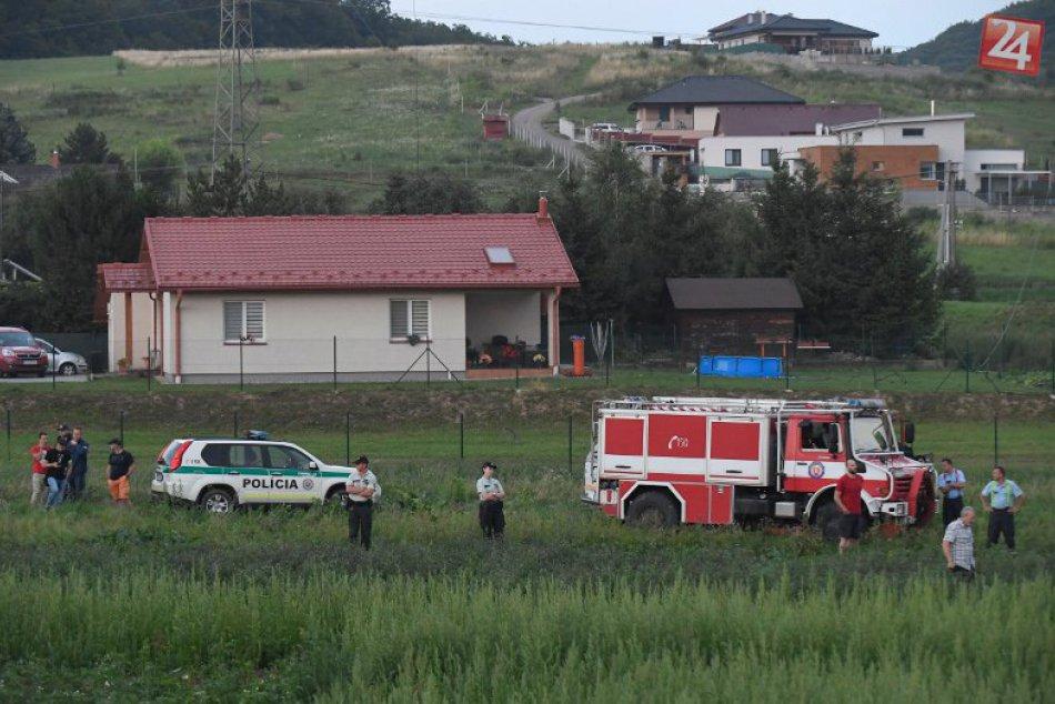Pri Prešove sa zrútil vrtuľník