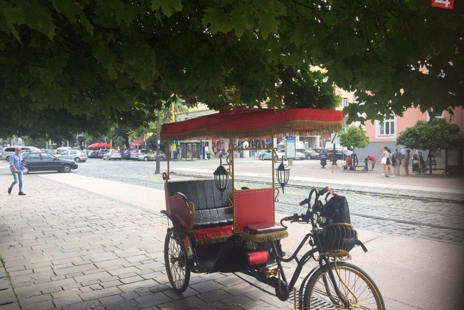 Košice - rikša
