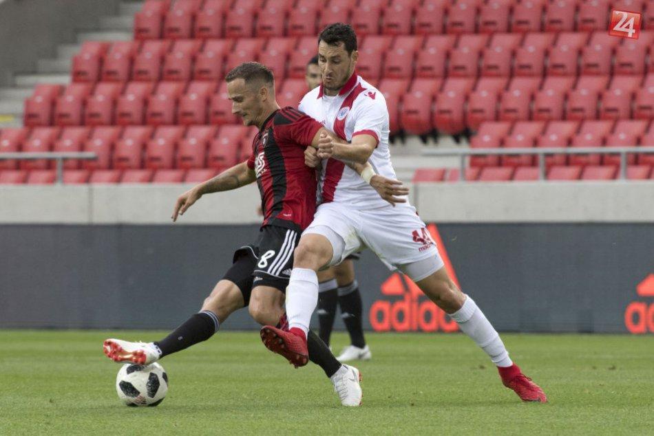 Spartak zdolal v 1. kole kvalifikácie LM Zrinjski Mostar