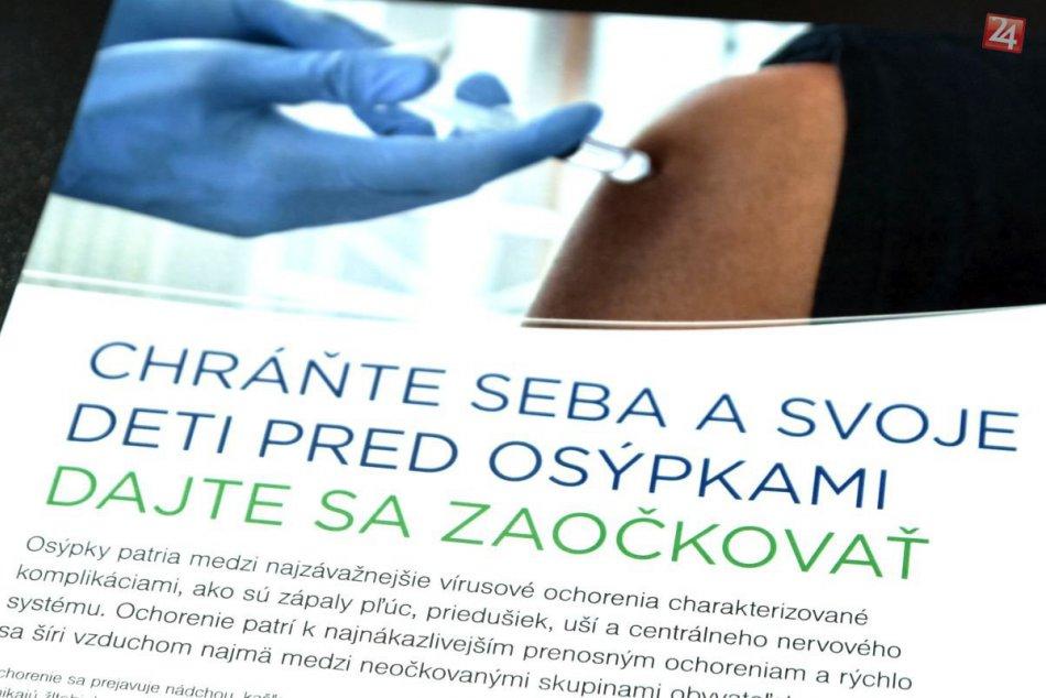 Očkovanie proti osýpkam