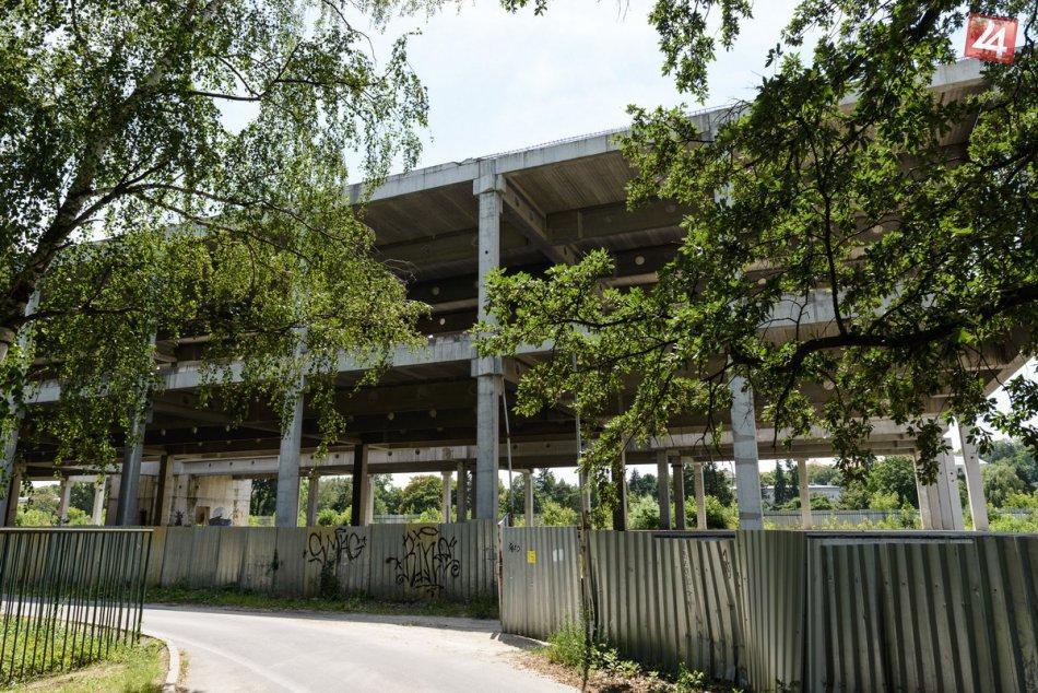FOTO: Skelet City parku v Nitre