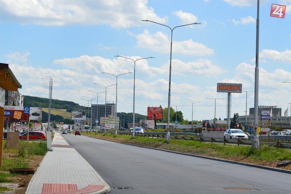 V OBRAZOCH: Zvolenská cesta už v obojsmernom dopravnom režime