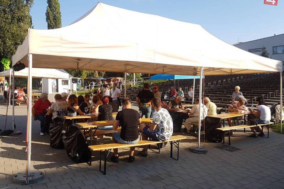 V Šali víno degustovalo vyše 450 ľudí: Divákov rozpálil aj Kmeťoband, FOTO
