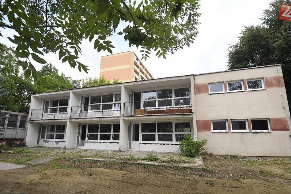Rekonštrukčné práce na elokovanom pracovisku MŠ Žižkova v KE