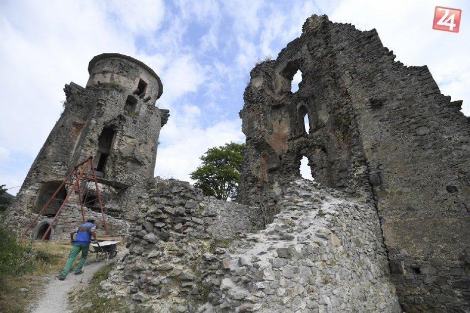 Obnova hradu Slanec