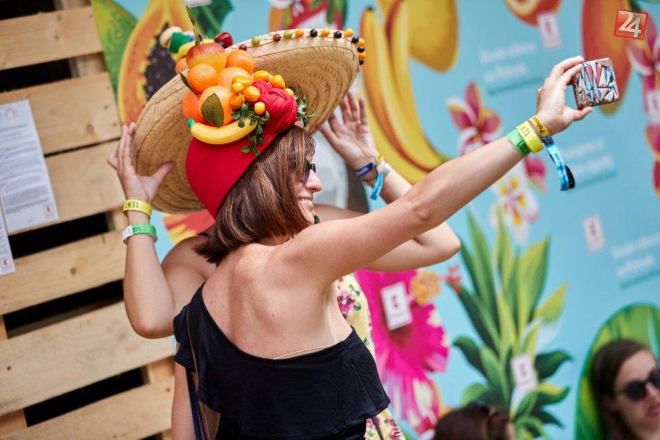 Pohoda 2018: Kaufland rozdal až 9500 porcií ovocia
