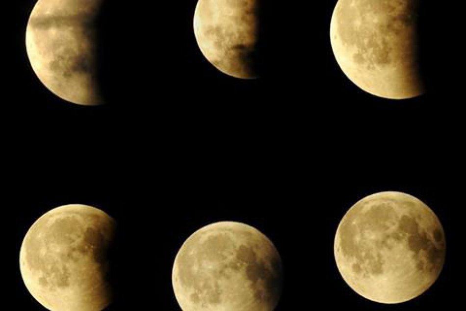 Zatmenie Mesiaca v Nitre: Krásne FOTO zachytené priamo z centra mesta
