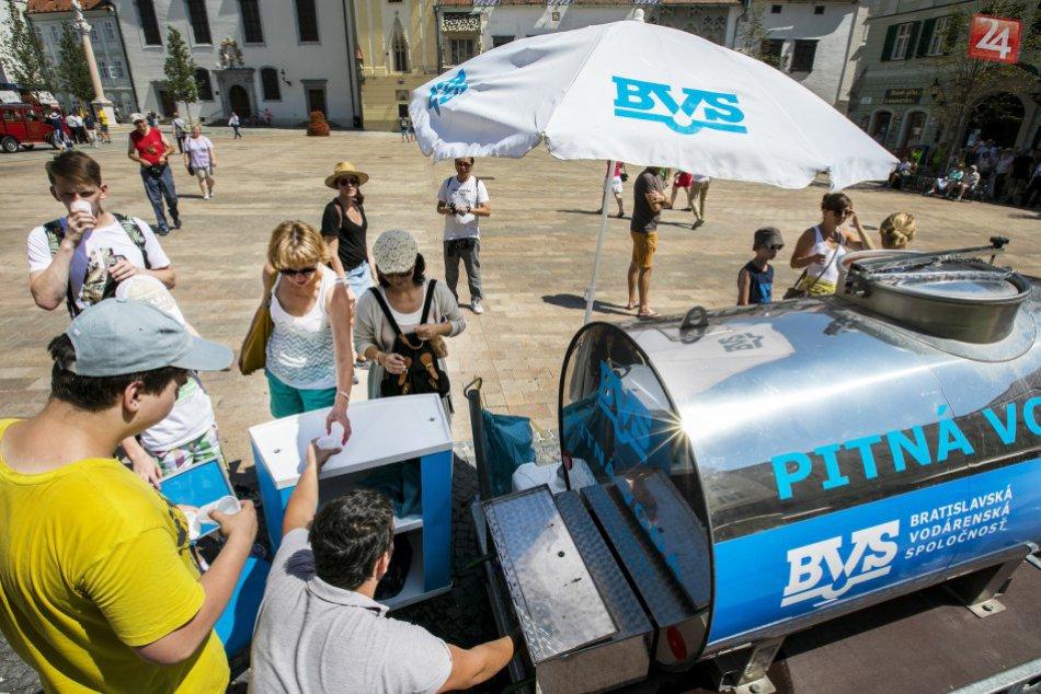 Bratislava bojuje s horúčavami