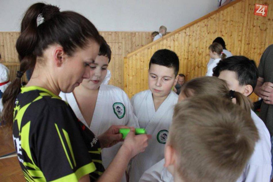 Sympatická trénerka Danka: V prešovskom klube trénuje deti karate