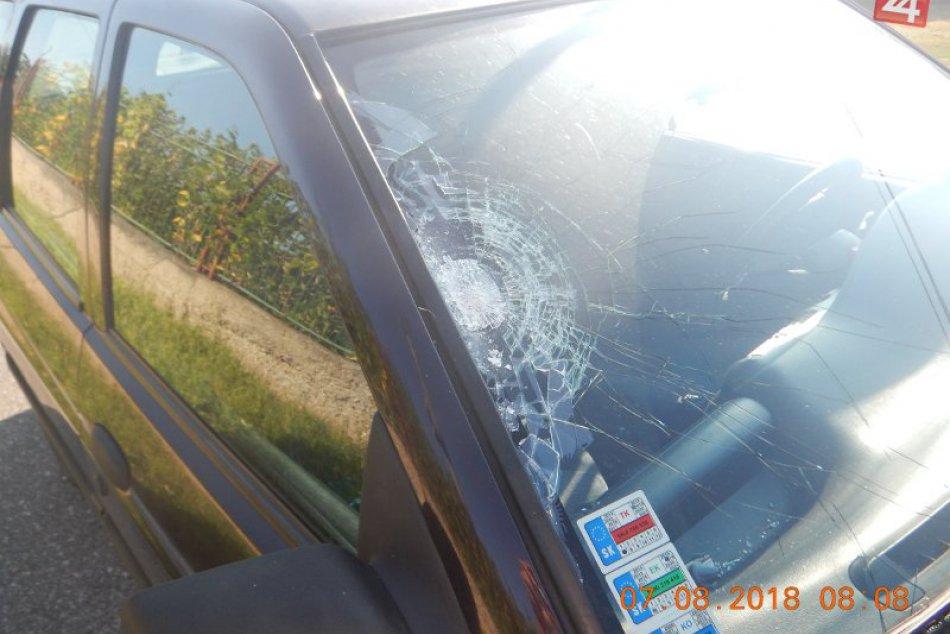 Dopravná nehoda v Radvani nad Dunajom