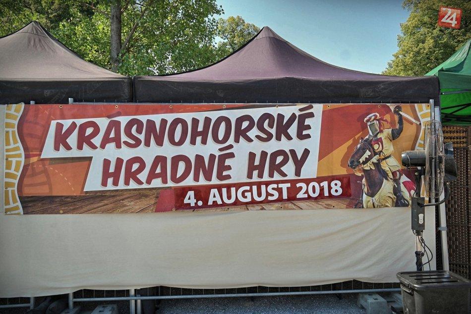 Obrazom: 13. Krásnohorské hradné hry 2018 zaujali veľkých aj malých