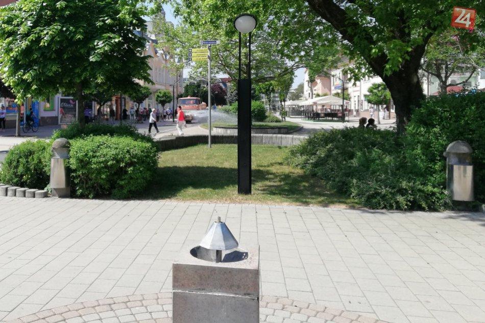 FOTOGALÉRIA: Horúčavy neutíchajú ani v centre nášho mesta