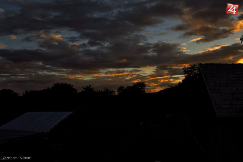 Obrazom: Západ slnka dokáže vytvoriť nádherné scenérie