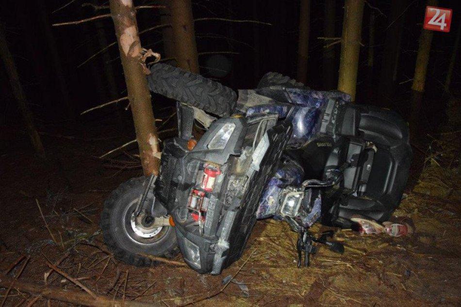 Tragická nehoda štvorkolky pri Rožňave