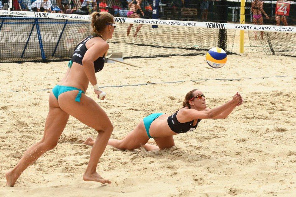 FOTO: Turnaj majstrovstiev Slovenska v plážovom volejbale v Nitre pozná víťazov