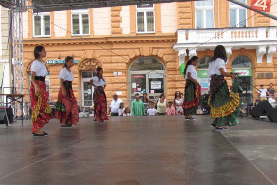 Zábery z festivalu v Prešove: Centrum nášho mesta ožilo rómskou kultúrou