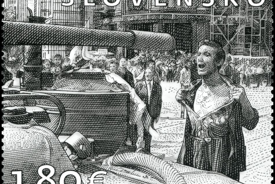 Ikonická fotografia Ladislava Bielika je motívom novej poštovej známky