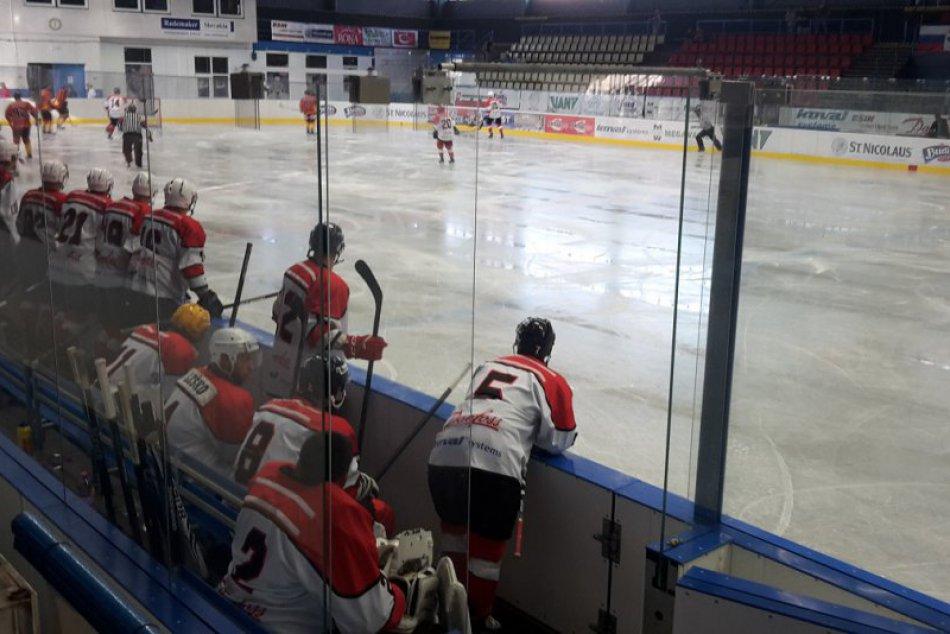 FOTO: Hokejisti HK 95 Považská Bystrica začali zápasovú prípravu proti Topoľčano