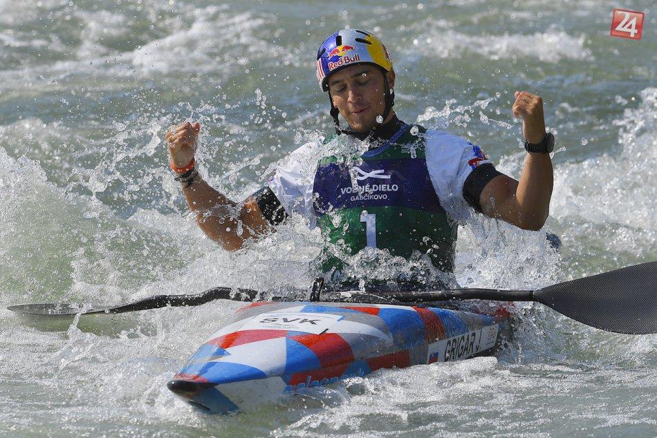 FOTO: Majstrovstvá Európy juniorov vo vodnom slalome v Čunove