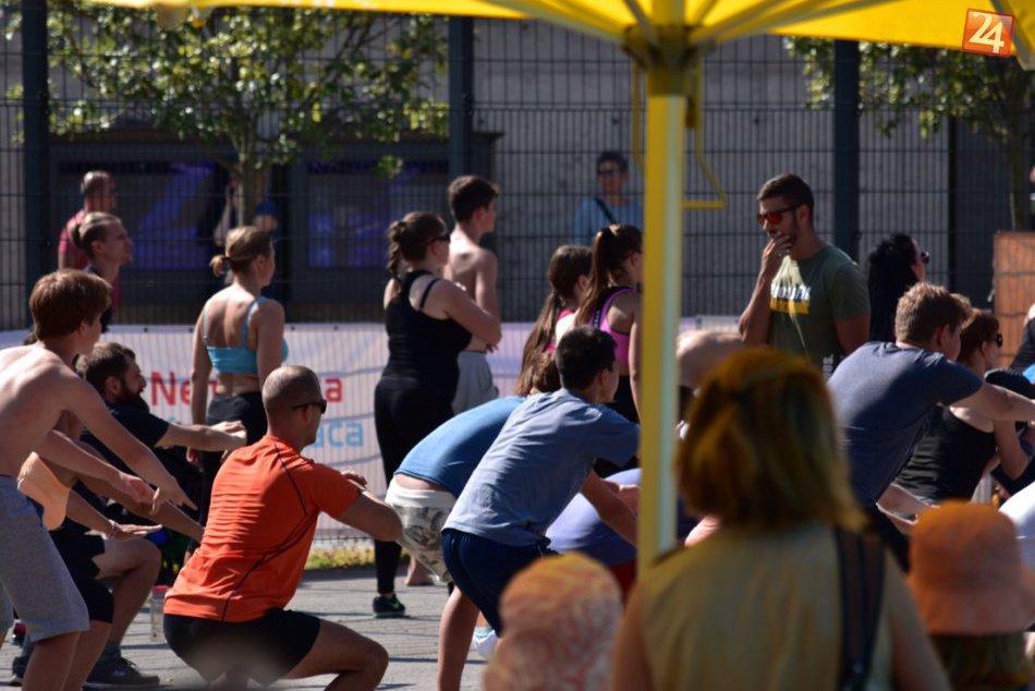 Športová nedeľa v parku
