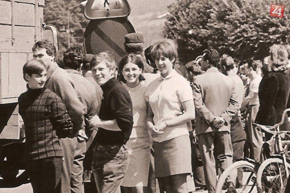 August 1968 v Považskej Bystrici: Pozrite na FOTO, ako to u nás vyzeralo