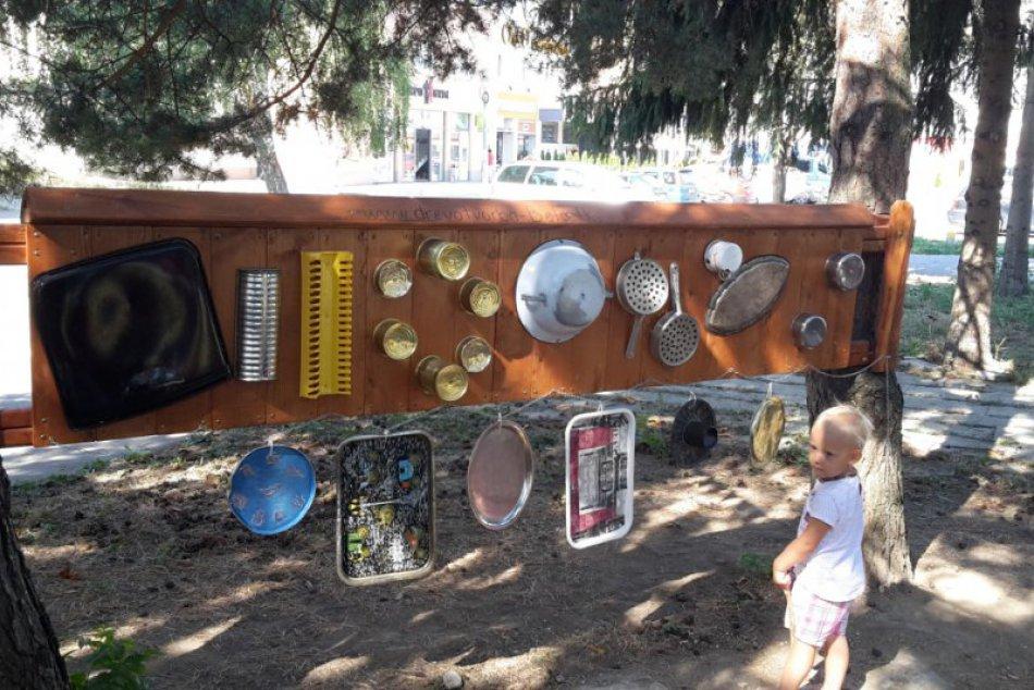 Takéto detské ihrisko v Považskej ešte nebolo: Zábery priamo z neho