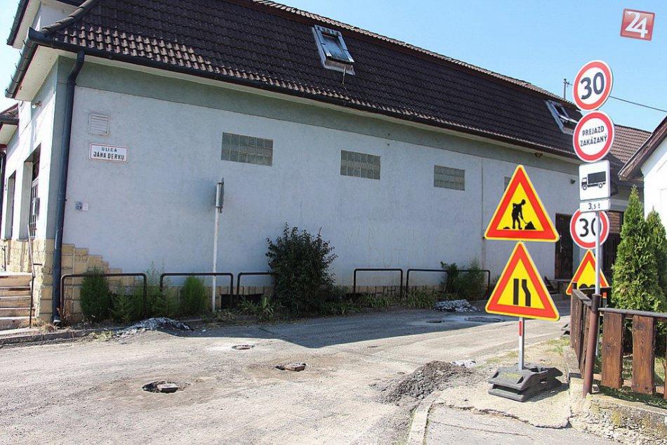 V obrazoch: Rekonštrukcia ciest v Trenčíne a okolí