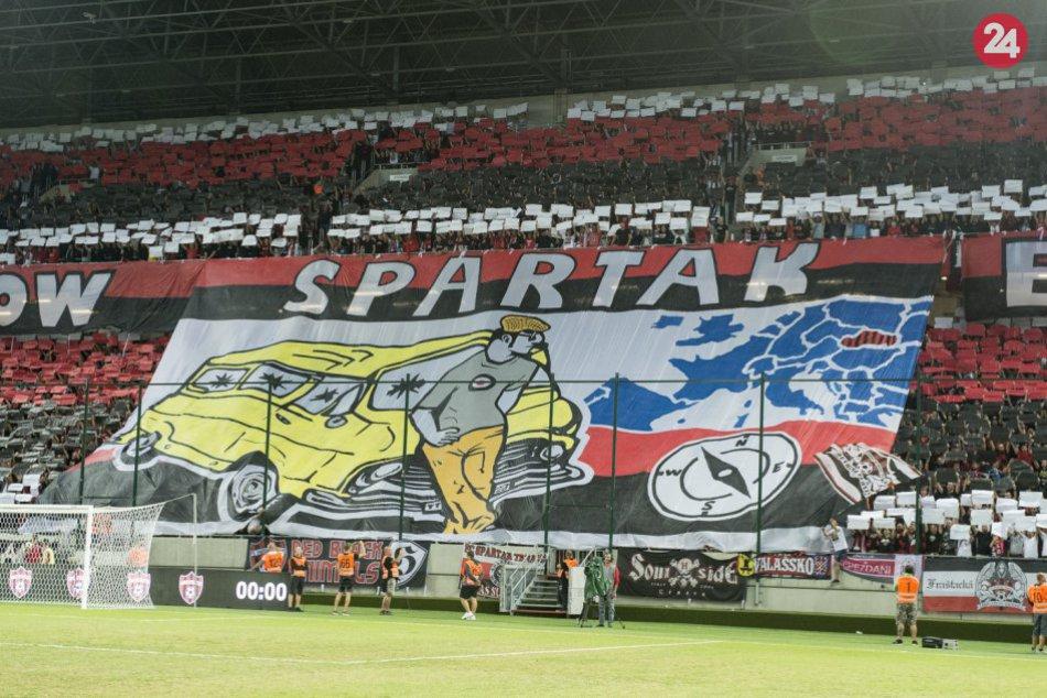 OBRAZOM: Atmosféra na zápase Spartak Trnava - Olimpija Ľubľana 1:1