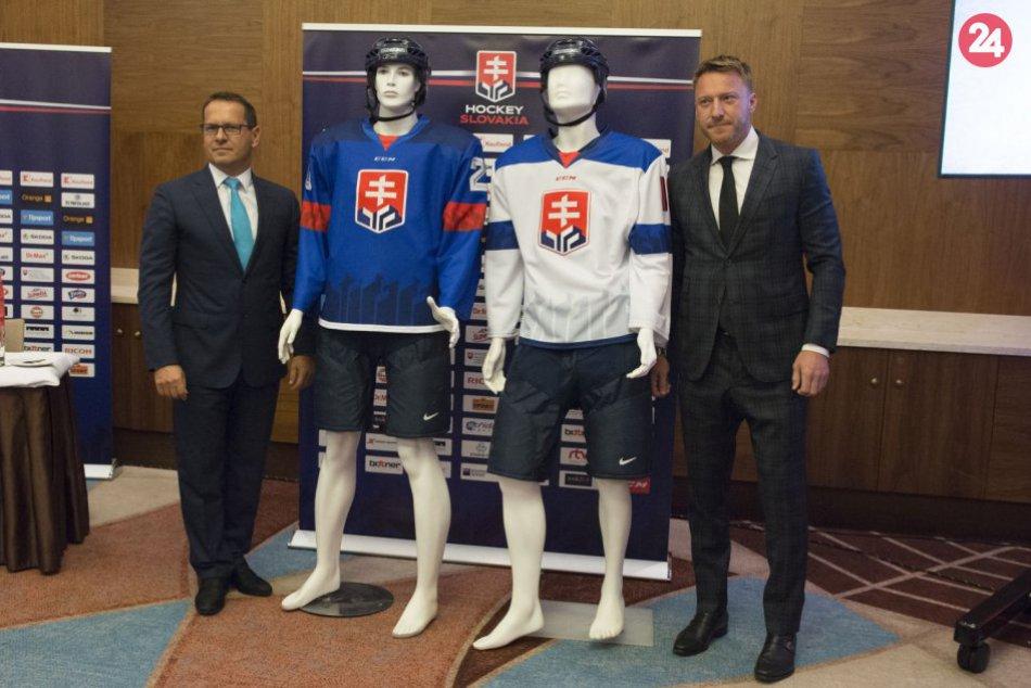 Novinky hokejového zväzu: Predstavili nové logo a reprezentačné dresy