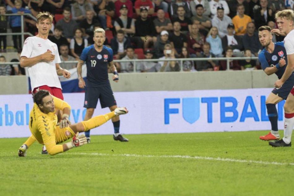 Slovensko zdolalo v príprave Dánsko: Súper nastúpil s hráčmi z nižších súťaží