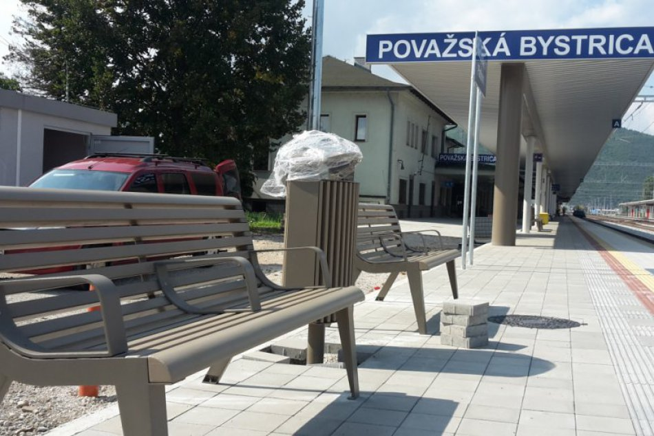 Železničná stanica v Považskej zmenená: Zábery z opäť otvoreného 1. nástupišťa