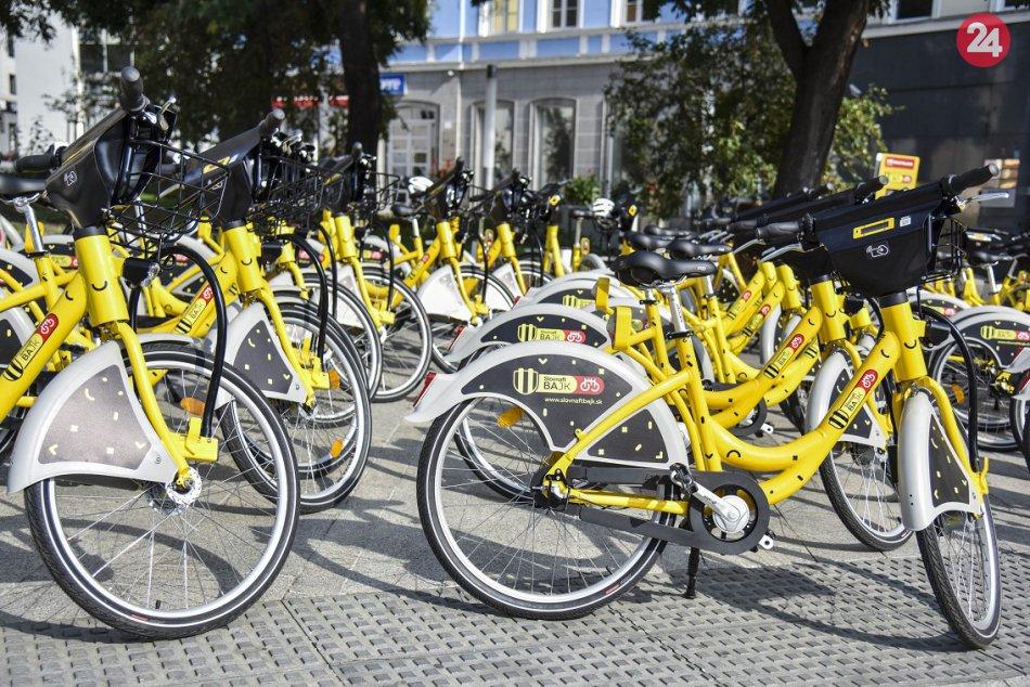 Spustenie bikesharingu - Slovnaft BAjk