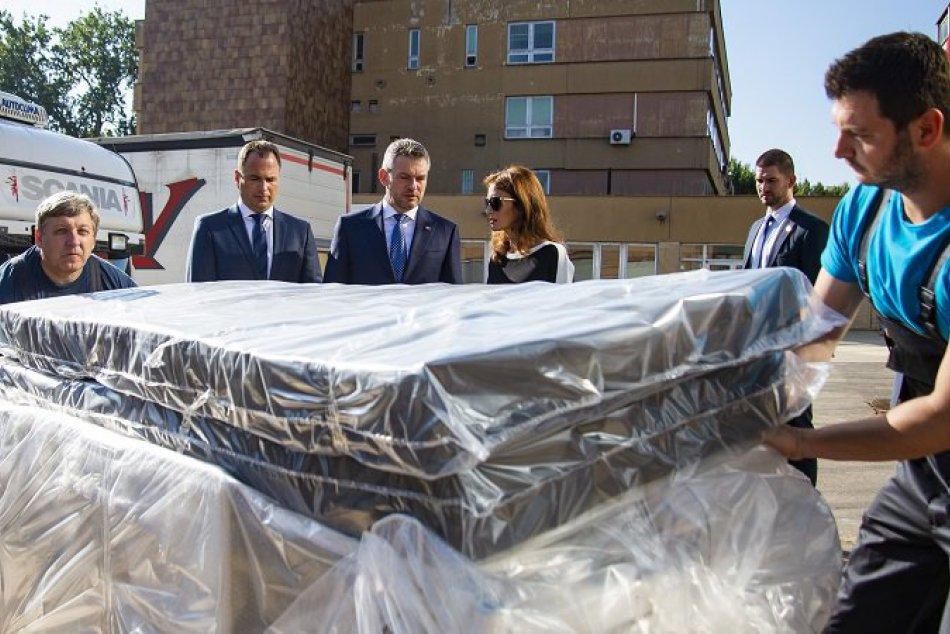 Nové postele na Antolskej